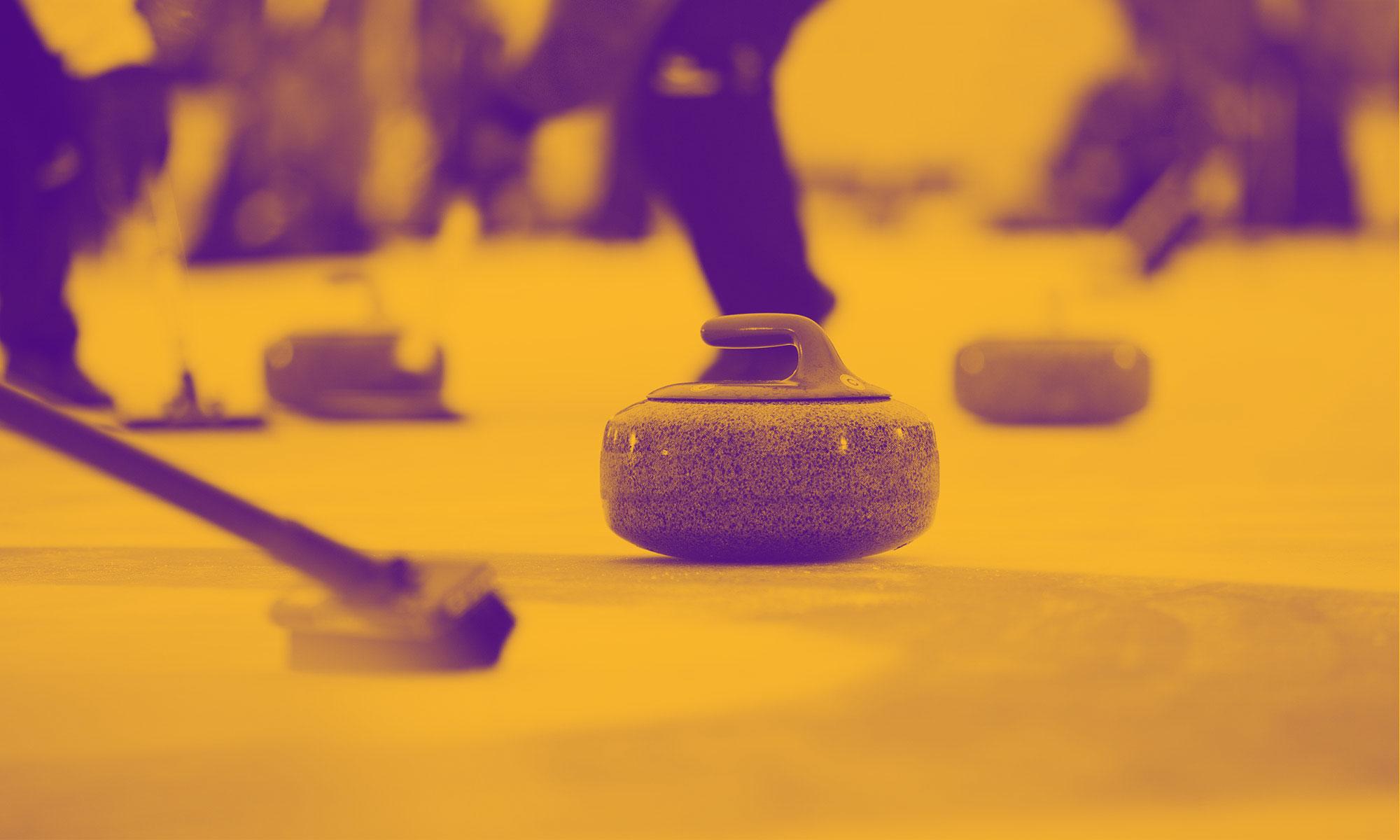 Vancouver Curling League - Purple & Gold